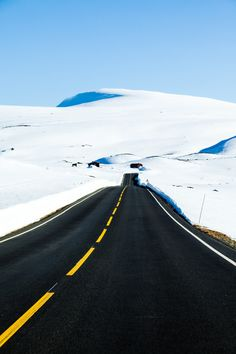 Winter Road by Svein Nordrum on 500px