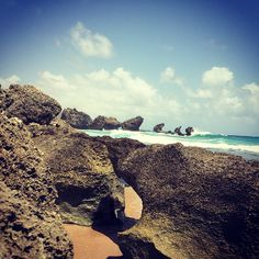 Rocks #eidon #eidon2015 #rocks #eidonsurf #Bathsheba #travel #barbados #barbados2015 #water #ocean #sea #love #like #beachlife #sky #beautiful #yes #lifeisswell #livetravelsurf
