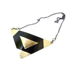 Lara-Brass Statement Necklace - $92.00