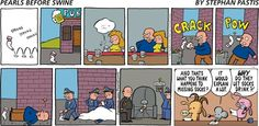 Pearls Before Swine Comic Strip, November 23, 2014 on GoComics.com
