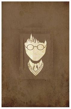 Vintage Harry Potter Movie Poster // The Philosophers/Sorcerers Stone // 11x17 Fantasy Art Print. $18.00, via Etsy.