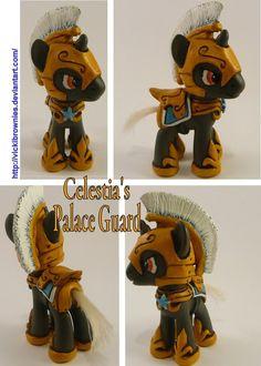 Celestia Palace Guard Pony FIM by VickiBrownies