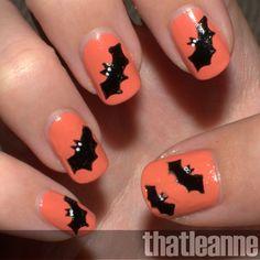 halloween nail designs | thatleanne: Simple Halloween Nail Art ideas