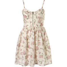 TOPSHOP floral broderie print corset dress Pink roses on dress. Full skirt LINING is white. Nice front functioning zipper. Back zip closure. Adjustable straps. Not thin or flimsy. Very well made! So cute always got compliments. Excellent condition worn a handful of times. Fancy or casual. Size 2. YES I bundleNO TRADES EVER no low balls. Don't ask to trade I will say no even if I love your closet. Negotiable ONLY USE OFFER BUTTON Topshop Dresses Mini