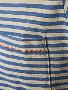 STRIPED T-SHIRT, Moonlight Blue