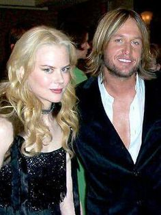 Nicole Kidman and Keith Urban when they first met each other.