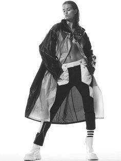 Luna Bijl By Daniel Jackson For Vogue China January 2017 Cool Runnings (8) • Minimal. / Visual. • Fashion Photography, Models, Street Style