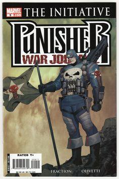 Punisher War Journal 2007 series # 10 near mint comic book