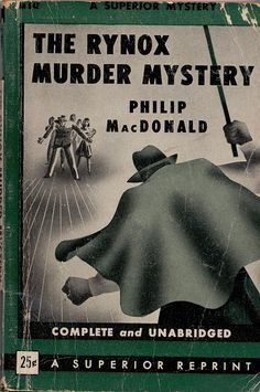 The Rynox Murder Mystery by Philip McDonald