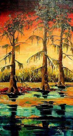 Louisiana Swamp - Diane milsap