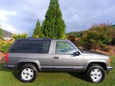 99 Best 1995 1999 Chevrolet 2 Door Tahoe Images In 2019 2 Door
