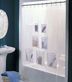 Cheap Trick: Clean A Vinyl Shower Curtain Liner | Vinyl Shower Curtains,  Cheap Trick And Cleaning