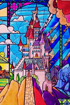 Castle - Beauty and the beast - disney wallpaper