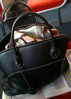 8642ba99ea51 Hermes Bolide Relax 35 in the incredibly supple Sikkim leather.