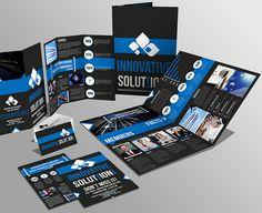 Brochuras, catálogos e folders de vários tipos e estilos para você design gráfico se inspirar. (13)