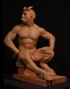 By artist Edmund Haakonson. He does tons of amazing satyr statues! Visit his website: www.eahaakonson.com/