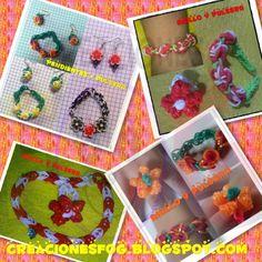 creaciones FOG: Pulseras, anillos, pendientes... de gomitas