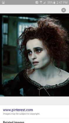 I got: Mrs Lovett! Which Tim Burton Heroine Are You?<br> Are you more Sally or Coraline? Which gothic leading lady are you most like? Tim Burton Style, Tim Burton Art, Tim Burton Films, Sweeney Todd, Helena Bonham Carter, Helen Bonham, Helena Carter, Maquillage Halloween, Halloween Makeup