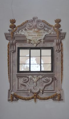 painted architectural window: Re-Create this with Deco Haven Artistry, Murals  Decorative Painting!
