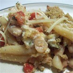 Pasta and White Beans Gratin - Allrecipes.com