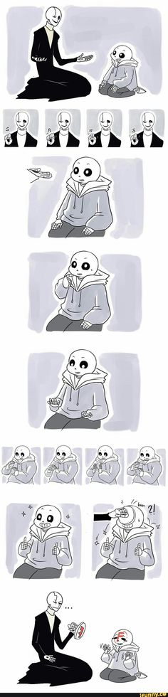 undertale, sans, gaster, ASL  When someone tries to teach you sign language but you have no idea what you're doing.  Watching two or more people using fluent sign language is pure magic.
