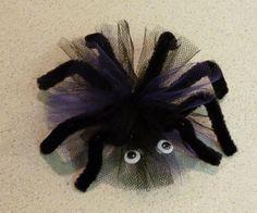 spider hair bow