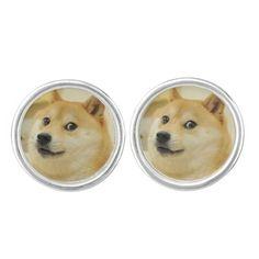 Doge Cuff Links Cufflinks