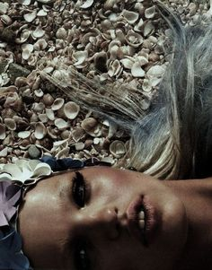"Daphne Groeneveldin ""Gold Sun"" byPatrick Demarchelier."
