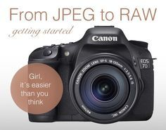 From JPEG to RAW: A Beginners Guide to Start Shooting in RAW – The Easy Way