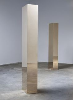 John McCracken: New Works in Bronze and Steel (2010)