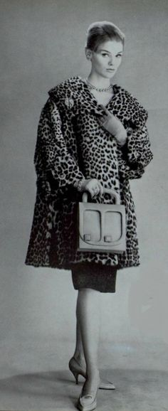 1959 leopard print coat