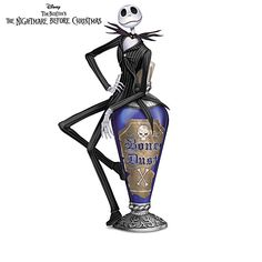 nightmare before christmas wicked brew figurine collection - Nightmare Before Christmas Cuckoo Clock
