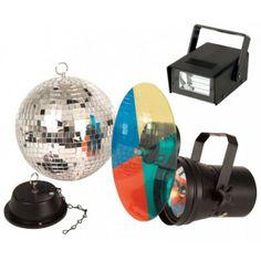 ¿Montamos una fiesta? ¡Ahora puedes con tus kits de discoteca! Si lo deseas, podemos montar uno para ti ¡A MEDIDA! Los mejores precios