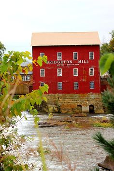 Grist Mill in Indiana