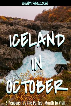 When should you visit Iceland? That's a good question. While anytime of year is possible, Iceland in October is the best and these are the five reasons why! #iceland #icelandic #october #fall #autumn #europe #travel #destinations Iceland Destinations, Iceland Travel Tips, Europe Travel Tips, European Travel, Cruise Destinations, Amazing Destinations, Travel Guides, Tahiti, Iceland Restaurants