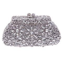 Fawziya SunFlower Purses For Women Luxury Rhinestone Crystal Evening Clutch Bags * Want additional info? Click on the image.