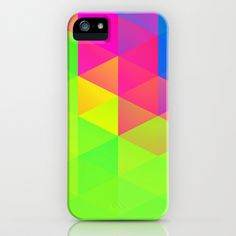 Randomik XVI iPhone & iPod Case by Rain Carnival - $35.00 I hope you like it! #iphone #samsung #case #skin #triangle