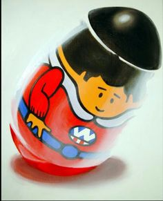 """Weebles wobble but they don't fall down!"" :-)"