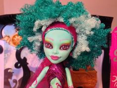Custom Monster High Honey Swamp Ooak Repaint ~ By Strux