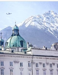 Beautiful capture of the Hofburg in Innsbruck! One of the most known sights of the city ✈️ Innsbruck, Beautiful Places To Visit, Austria, Taj Mahal, City, Building, Travel, Voyage, Trips