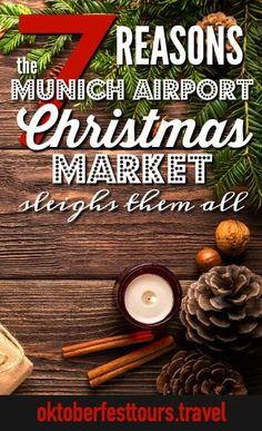 7 Reasons the Munich Airport Christmas Market Sleighs Them All 7 Reasons the Munich Airport Christmas Market Is the Only One You Need to Visit German Christmas Markets, Christmas Holidays, German Markets, Beer Health Benefits, Prague Travel, Europe Travel Tips, Travel Guides, Beer Festival, Road Trip Hacks