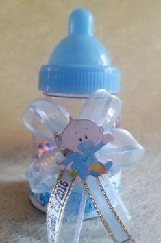 recordatorios baby shower biberones decorado y marcado