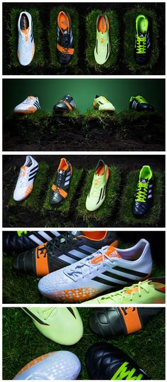 Brazilian forest beauty brought to the pitch. Introducing the Earth Pack from adidas.