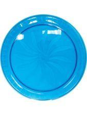 Plastic Caribbean Swirl Platter 16in-Party City