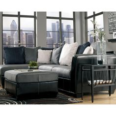 Masoli Cobblestone Sectional With Left Chaise By Benchcraft Sam S Furniture Liance Sofa Fort Worth Arlington Dallas Irving Texas