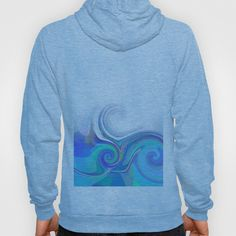 Re-Created  Tsunami ONE Hoody by Robert S. Lee - $42.00