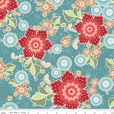 Riley Blake Designs: C3130-BLUE