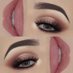Schritt für Schritt Make-up - Makeup Tips For Older Women Makeup Eye Looks, Cute Makeup, Smokey Eye Makeup, Gorgeous Makeup, Pretty Makeup, Eyeshadow Makeup, Lip Makeup, Makeup Geek, Makeup Goals