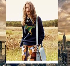 Coach has launched its spring-summer 2016 campaign. Once again photographed by Steven Meisel, the cast heads to the outdoors in Huntington, New York, wearing retro inspired styles. Models Rianne van Rompaey, Alice Metza, Ally Ertel, Lexi Boling, Xavier Buestel, Sora Choi and Niels Trispel appear in the spring advertisements. Styled by Karl Templer, the group …