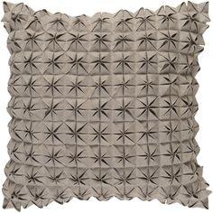 Beautiful fabric manipulated pillow - new introduction from Surya (SUU-003)